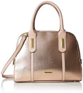 Rose Gold handbags - Anne Klein Show Off Satchel Bag